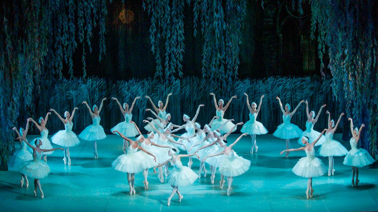 Сцена из «Лебединого озера»